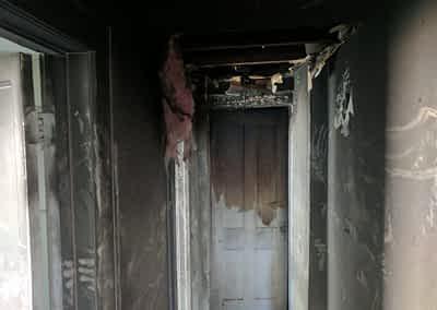 Struck and Sons | Pantaleo Property | Fire Damage