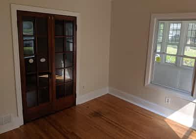 Decker Property Interior Room after Restoration