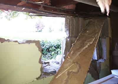 George Structural Damage