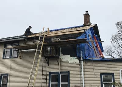 Struck and Sons   Cassoni Property   Fire Damage