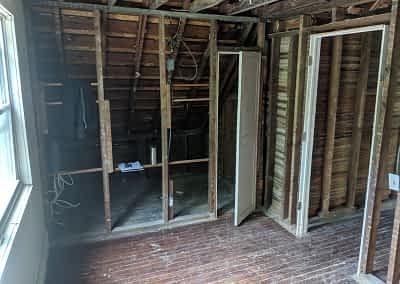 Decker Property Restoration Attic Damage