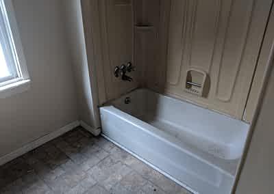 Decker Property Bathroom Damage