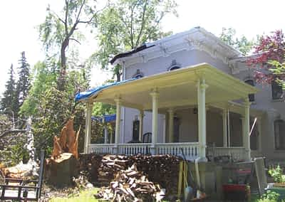 Struck and Sons   Kemp Property   Structural Damage