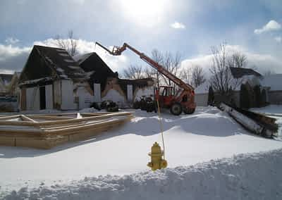 Struck and Sons | Barresse Property | Fire Damage