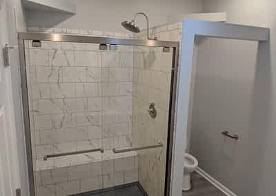 Struck and Sons | Carroll Property Mast Bath