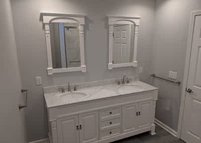 Struck and Sons | Carroll Property Bathroom After Restoration