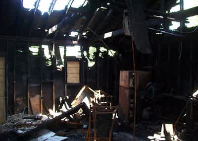 Struck and Sons | Nelson Property fire damage