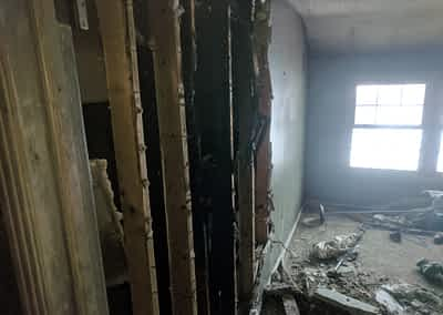 Struck and Sons | Hall Property | Fire Damage