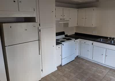 Decker Property Fire Restored Kitchen