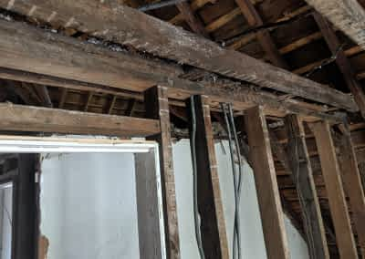 Decker Property Severe Attic Damage Restoration
