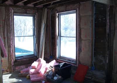 Struck and Sons   Waldman Property   Fire Damage