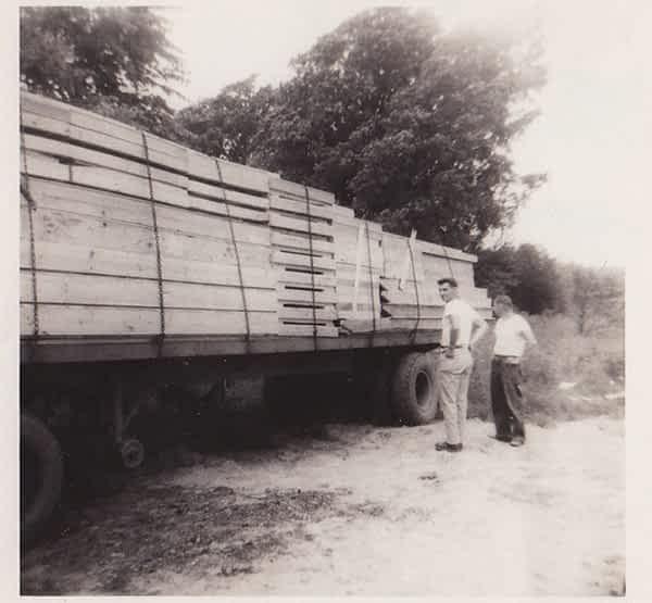 Lumbar Delivery at Struckmar Historical Photo