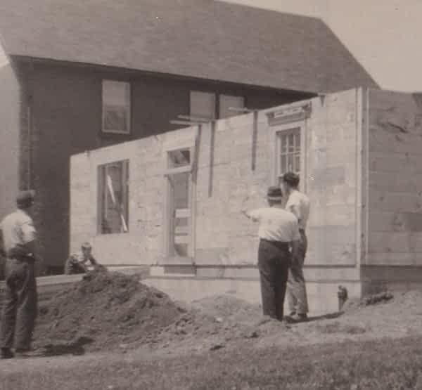 Construction Historical Photo of Struckmar