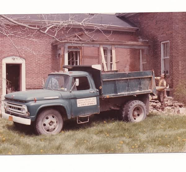 Historical photo of the Green Struck and Sons Truck