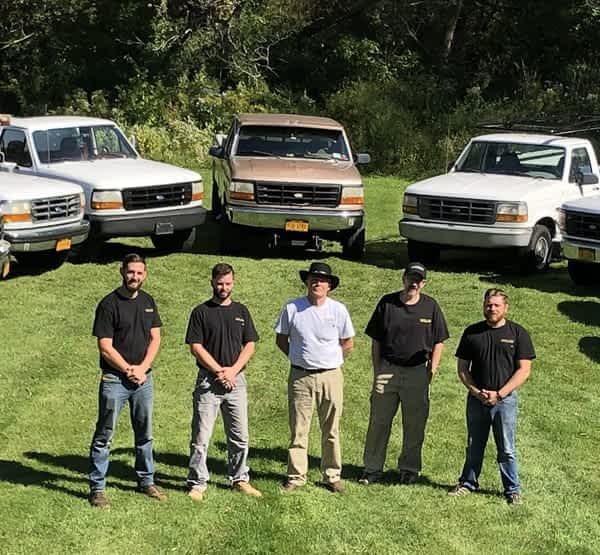 The crew of Struck and Sons